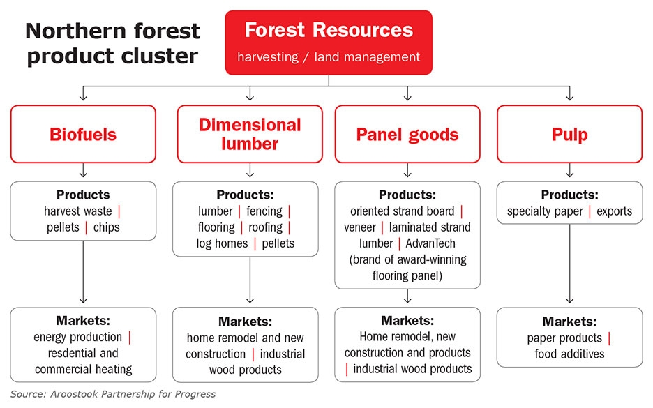 Northern Forest Product Cluster